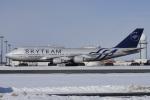 神宮寺ももさんが、新千歳空港で撮影したチャイナエアライン 747-409の航空フォト(写真)