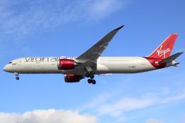 Koba UNITED®さんが、ロンドン・ヒースロー空港で撮影したヴァージン・アトランティック航空 787-9の航空フォト(写真)