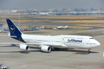 こむぎさんが、羽田空港で撮影したルフトハンザドイツ航空 747-830の航空フォト(写真)