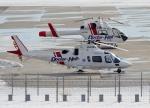 E-75さんが、函館空港で撮影した鹿児島国際航空 A109E Powerの航空フォト(写真)