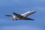 yabyanさんが、中部国際空港で撮影した静岡エアコミュータ 525A Citation CJ2の航空フォト(写真)