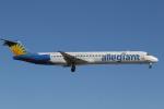 ゴンタさんが、マッカラン国際空港で撮影したアレジアント・エア MD-83 (DC-9-83)の航空フォト(写真)