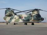 くまのんさんが、名古屋飛行場で撮影した航空自衛隊 CH-47J/LRの航空フォト(写真)