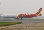 あしゅーさんが、台湾桃園国際空港で撮影したベトジェットエア A321-211の航空フォト(飛行機 写真・画像)