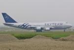 あしゅーさんが、台湾桃園国際空港で撮影したチャイナエアライン 747-409の航空フォト(飛行機 写真・画像)