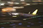wtb11_ksさんが、羽田空港で撮影したソラシド エア 737-81Dの航空フォト(写真)