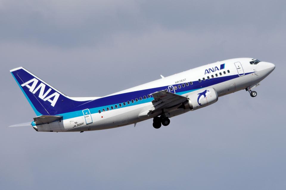 yabyanさんのエアーネクスト Boeing 737-500 (JA306K) 航空フォト
