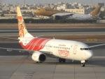 cornicheさんが、バーレーン国際空港で撮影したエア・インディア・エクスプレス 737-8HJの航空フォト(飛行機 写真・画像)