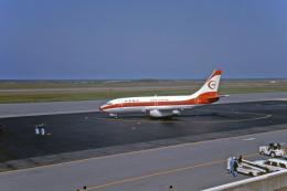 Gambardierさんが、新潟空港で撮影した南西航空 737-2Q3/Advの航空フォト(飛行機 写真・画像)