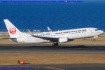 Chofu Spotter Ariaさんが、中部国際空港で撮影した日本トランスオーシャン航空 737-8Q3の航空フォト(写真)