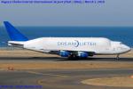Chofu Spotter Ariaさんが、中部国際空港で撮影したボーイング 747-409(LCF) Dreamlifterの航空フォト(飛行機 写真・画像)