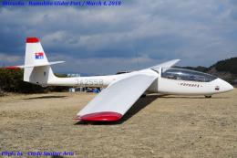 Chofu Spotter Ariaさんが、浜北滑空場で撮影した日本個人所有 SZD-50-3 Puchaczの航空フォト(飛行機 写真・画像)