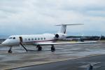 FRTさんが、松山空港で撮影したプライベートエア G-V-SP Gulfstream G550 Eitamの航空フォト(写真)