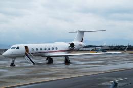 FRTさんが、松山空港で撮影したプライベートエア G-V-SP Gulfstream G550 Eitamの航空フォト(飛行機 写真・画像)