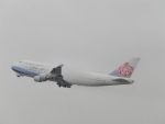 FRTさんが、関西国際空港で撮影したチャイナエアライン 747-409の航空フォト(飛行機 写真・画像)