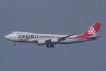HEATHROWさんが、関西国際空港で撮影したカーゴルクス・イタリア 747-4R7F/SCDの航空フォト(写真)