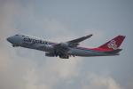 JA8037さんが、香港国際空港で撮影したカーゴルクス・イタリア 747-4R7F/SCDの航空フォト(写真)