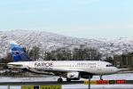 菊池 正人さんが、ベルゲン空港で撮影したアトランティック・エアウェイズ A319-115の航空フォト(写真)