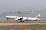 yousei-pixyさんが、羽田空港で撮影した日本航空 777-346/ERの航空フォト(写真)
