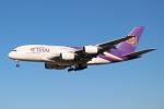 OMAさんが、成田国際空港で撮影したタイ国際航空 A380-841の航空フォト(写真)