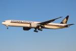 OMAさんが、成田国際空港で撮影したシンガポール航空 777-312/ERの航空フォト(写真)