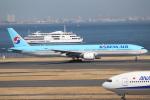 OMAさんが、羽田空港で撮影した大韓航空 777-3B5の航空フォト(写真)