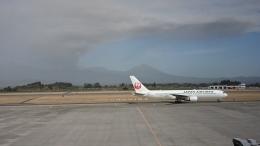 海山さんが、鹿児島空港で撮影した日本航空 767-346の航空フォト(飛行機 写真・画像)