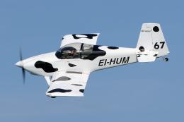 Echo-Kiloさんが、ブレイ・アイルランド / Bray, Irelandで撮影したアイルランド個人所有 RV-7の航空フォト(飛行機 写真・画像)