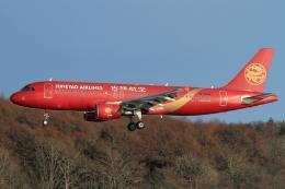 ウッディーさんが、新千歳空港で撮影した吉祥航空 A320-214の航空フォト(写真)