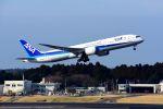 まいけるさんが、成田国際空港で撮影した全日空 787-9の航空フォト(写真)