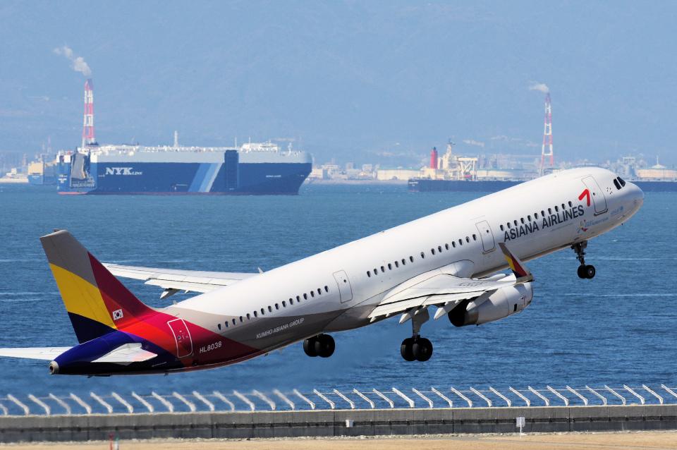 yabyanさんのアシアナ航空 Airbus A321 (HL8038) 航空フォト