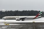 菊池 正人さんが、オスロ国際空港で撮影したエミレーツ航空 777-31H/ERの航空フォト(写真)