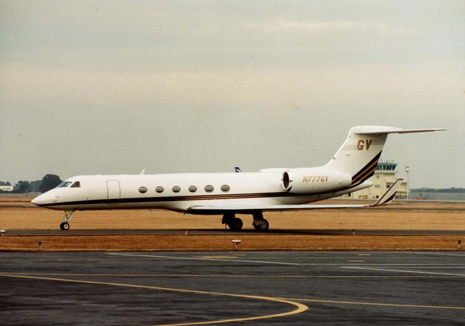 kumagorouさんのガルフストリーム・エアロスペース Gulfstream Aerospace G-V (N777GV) 航空フォト