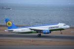 ANA&peachLOVEさんが、中部国際空港で撮影したウズベキスタン航空 A320-214の航空フォト(写真)