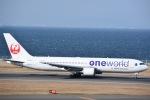 ANA&peachLOVEさんが、中部国際空港で撮影した日本航空 767-346/ERの航空フォト(写真)