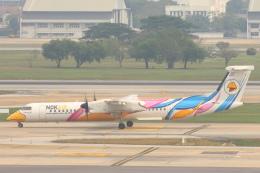 航空フォト:HS-DQC ノックエア DHC-8-400