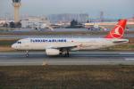 武彩航空公司(むさいえあ)さんが、アタテュルク国際空港で撮影したターキッシュ・エアラインズ A320-232の航空フォト(写真)