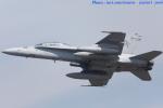 いおりさんが、岩国空港で撮影したアメリカ海兵隊 F/A-18D Hornetの航空フォト(写真)
