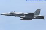 いおりさんが、岩国空港で撮影したアメリカ海兵隊 F/A-18A Hornetの航空フォト(写真)