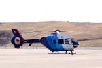 ドリさんが、福島空港で撮影した中日新聞社 EC135P2の航空フォト(写真)