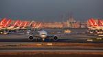 武彩航空公司(むさいえあ)さんが、アタテュルク国際空港で撮影したターキッシュ・エアラインズ 777-3F2/ERの航空フォト(写真)