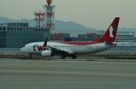 FRTさんが、関西国際空港で撮影したティーウェイ航空 737-8ALの航空フォト(飛行機 写真・画像)