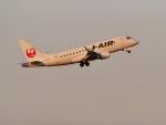 jjieさんが、羽田空港で撮影したジェイ・エア ERJ-170-100 (ERJ-170STD)の航空フォト(写真)