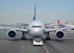 cornicheさんが、ロサンゼルス国際空港で撮影したアリタリア航空 777-243/ERの航空フォト(飛行機 写真・画像)