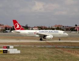 cornicheさんが、アタテュルク国際空港で撮影したターキッシュ・エアラインズ A319-132の航空フォト(飛行機 写真・画像)