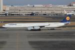 キイロイトリさんが、羽田空港で撮影したルフトハンザドイツ航空 A340-642の航空フォト(写真)