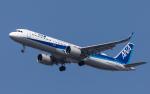 airbandさんが、羽田空港で撮影した全日空 A321-272Nの航空フォト(写真)