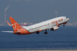 yabyanさんが、中部国際空港で撮影したチェジュ航空 737-8BKの航空フォト(飛行機 写真・画像)