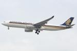 Ariesさんが、シンガポール・チャンギ国際空港で撮影したシンガポール航空 A330-343Xの航空フォト(写真)