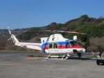 ランチパッドさんが、静岡ヘリポートで撮影した国土交通省 地方整備局 412EPの航空フォト(写真)